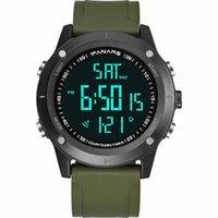 Saatı Reloj Deporte Fonksiyonel Spor Su Geçirmez Tarih Ekran Aydınlık Çalar Saat erkek Elektronik İzle Relojes Deportivos Mujer * A