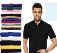 Hommes Designer Polos Brand Petite Cheval Crocodile Broderie Vêtements Hommes Tissu Lettre Polo T-shirt Collier T-shirt Casual T-shirt T-shirt Tops