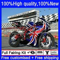 Triumph Daytona650 Daytona Red Blue Hot 650 600 CC 02 03 2004 2005 10NO.184 600CC Bodywork Daytona 600 650CC 2002 2003 04 05 DayTonA600 2002-2005フェアリング