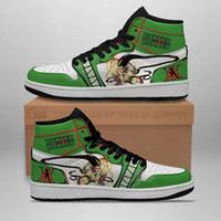 Customization Gon Freecss Hunter x Hunter Sneakers Adult Hxh Anime Shoes