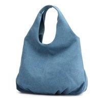 Cross Body 2021 Canvas Large Capacity Ladies Handbag Fashion Commuter Big Bag Casual Solid Color Shoulder