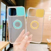 Wholesale Price TPU PC CamShield Cases Cell Phone Back Cover Mobile Accessory for Iphone 13