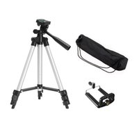 Tripods Durable Portable Flexible Camera Tripod With Stand Holder Mount Carry Bag For Mobile Phone Smart Camcorder