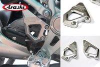 Arashi CNC Poggiapiedi Pieghetta Pieghetta Pulg Guardia Plazi Moto per BMW R1200GS / R 1200 GS ADV Avventura 2013 - 2014 2014 2016 2016 2017