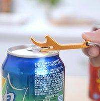 Portátil 4 en 1 Abrebotella llavero llavero mini botella de cerveza aluminio aleación abridor publicidad personalizado logotipo remover OOD5542