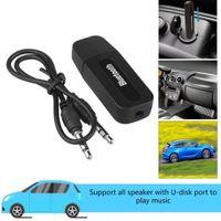 3.5mm Jack USB Bluetooth AUX Kablosuz Araba Ses Alıcısı A2DP Müzik Alıcı Adaptörü Akıllı Cep Telefonu Araba Bluetooth Alıcı Kiti için