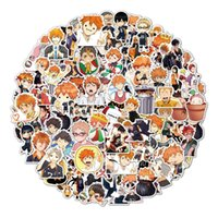 100pcs lot Fashion Stickers cartoon anime decals For luggage laptop refrigerator Decal car Water Bottle waterproof Sticker
