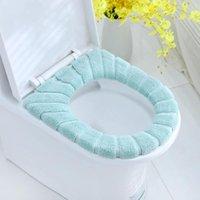 Чехлы для сиденья унитаза пальто крышки колодки утолщенные CLASSESTOOL теплые подушки крышки ванной комнаты дома выдвижной моющиеся подушки