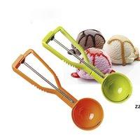 Crème glacée cuillère cuillère glace boule de glace crème glacée scops pile rond fruit mousse cuillère cuillère cuillère cuisine outils accessoires HWD9868