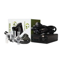 GREENLIGHTVAPES G9 MINI ENAIL DABBER DAB RIG Collector KIT Straw with Glass Bubbler Water Pipe