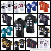 2021 Draft 85 Tim Tebow 10 Mac Jones Football Jerseys 1 Justin Champs 22 Najee Harris 17 Jaylen Waddle Jersey 89 Kadarius Toney Rouge Blanc