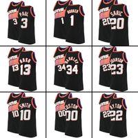 Custom Devin 1 Bucher Chris 3 Paul Basketball Trikots Jae 99 Crowder Dario 20 Saric Mikal 25 Bridges Cameron 15 Payne 23 Johnson genähtes Trikot