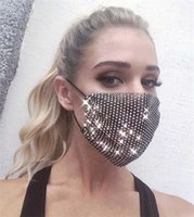 Fashionable Color Mesh Party Mask European And American Creative Design Masquerade Andningsbar ansikte Dekoration Mouth Cover