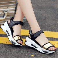 Bayanlar Takozlar Sandalet Moda Yaz Kadın Peep Toe Platformu Sandalet Rahat Rahat Ayakkabılar Kadın Sandalias Mujer 569 DFV4