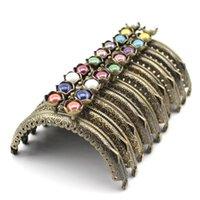 Tas onderdelen accessoires 8,5 cm lotus hoofd kralen antieke bronzen kant metalen portemonnee frame handvat voor koppeling handtas maken kus sluitingslot