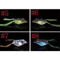 New Soft Rubber Ray Frog Snakehead Lure 8g-4.5cm 11g-5cm 14g-5.5cm 3 Size Topwater Lifelike Frog P jllKKl sport777