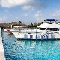 Galleggiante Blu del float del crash dell yacht da esterno per la nave / pad yacht anti collisione Barca contro la palla di inflazione ad alta resistenza