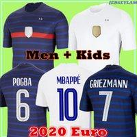 Mbappe Soccer Jersey Euro 2020 Cup Grizmann Mailleots De Football Shirt Oechs de la 2021 100th 100 سنة الرجال + Kids Kit 777