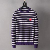 21ss мужские свитеры с длинными умывальниками вязаные буквы вышивка мода PA толстовки пуловер givenci свитер мужские топы вязать одежду бурбери рубашки толстовки