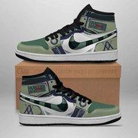Customization Meruem Hunter x Hunter Sneakers Skin Hxh Anime Shoes