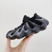 Yeni Bebekler 450s Kanany Koşu Ayakkabıları Eva Köpük Exoskeleton Sole Pembe Kız Bulut Beyaz 450 Koyu Kayrak Siyah Primekitler Reçine Serin Gri Batı Küçük Çocuklar Sneakers