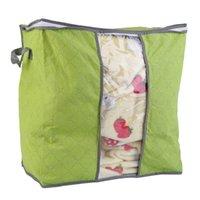Storage Bags 2021 2 Colors U Pick Foldable Wardrobe Bag Clothes Blanket Pillow Quilt Closet Sweater Box Organize