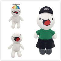 3Pcs   lot Toys Stuffed Animals Plush Soft Doll children's toy H25cm