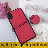 L Мода Телефон Чехлы для iPhone 12 Pro Max 11 11PRO 7 8 PLUS X XR XS XSMAX Pocket Hard Back Cover Samsung Galaxy S9 S10 NOTE8 Примечание 9 10P