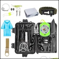 Gadgets And Cam Hiking Sports & Outdoorsedc Tool Kit Sos Survival Tools Emergency Blanket Tactical Pen Flashlight Pliers Wire Saw Outdoor Ge