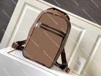 Высокое качество Michael Backpack Luxurys Designer рюкзаки Бренд Мужчины Женщины Подлинная Кожаная Ученая Ученая Учетная Учет