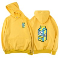 Sweats à capuche pour hommes Sweatshirts 2021 Mode Lémonade lyrique Imprimer Streetwear Hommes Femmes Harajuku Hip Sweat-shirt Hop Sweat à capuche surdimensionnée