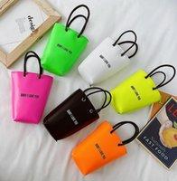 HBP Fashion Baby Girls Bandbody sac haute qualité mignonne sacs à bandoulière mini sacs à main Six Color Bucket totes cadeaux enfants