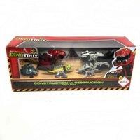 for Dinotrux Dinosaur Truck Removable Dinosaur Toy Car Mini Models New Children's Gifts Toys 1:64 Metal gite K1