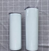 20 30 ounce oz Stainless steel Sublimation glitter tumblers cricut blanks bulk Straight Skinny heat press in regular oven matte white wine coffee cups images near me