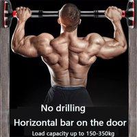 Verstellbare Heimtür Horizontale Bar Pull Up 350kg Wand Doppelbalg Gym Workout Kinn Trainingsbar Sport Fitnessgeräte