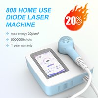 Portable 808nm diode laser hair removal machine for home use with good quality