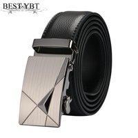 Cinturones ybt hombres tendencia cinturón moda de alta calidad aleación automática hebilla asuntos de negocios pantalones casuales blot