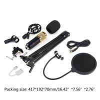 Mikrofonlar Kondenser Mikrofon Bundle BM-800 MIC Seti Stu Dio Kayıt Kiti 77ha için Set