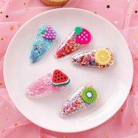 Hair Accessories 1pcs Fruit Hairpins For Girls Fashion Claw Clips Headwear Barrettes Women Hairclip 2021 Bows