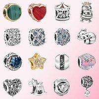 2020 Fahmi Popular 925 Silver Shine Celestial Queen Bee Elevated Heart Charm Fit DIY Bracelet Original Jewelry For Women