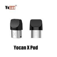 100 cartuchos de cera YOCAN X originais X POD Concentrate Atomizer para Yocan X Kit Quartz Dual Bobina Bobina PODs Autênticos