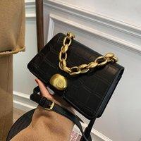 Women's Brand Handbag Ladies Pu Leather Luxury Chain Design Mini Shoulder Crossbody Bag Female Beautiful 2021 Summer Solid Bags