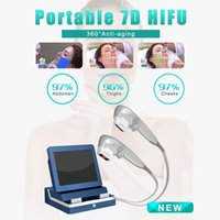 Medical grade other beauty equipment 7D HIFU wrinkle removal body slimming acne treatment machine 2 years warranty video manual