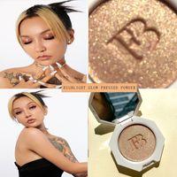 얼굴 형광펜을위한 Maquillaje 형광펜 가압 파우더 페이셜 컨투어링 팔레트 방수 지속적인 Bronzer 화장품 여성용