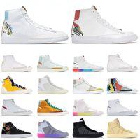 Schuhe Nike Blazer Mid 77 Vintage Off White Sacai Herren Damen Laufschuhe Catechu Indigo Brick Red Have A Good Game Turnschuhe