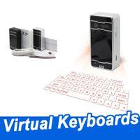 Tastiere Bluetooth laser Tastiera wireless Proiezione laser Tastiera Virtual Proiezione Virtual Proiezione con altoparlante Mouse Voice for iphone cellulare