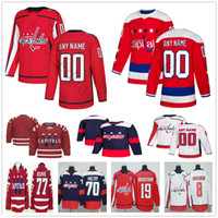 Capitales de Washington personnalisées 65 Andre Burakovsky 25 Devante Smith-Pelly 44 Brooks Orpik 29 Christian Djoos Hommes Femmes Enfants Jeux de Hockey Jeunes Jersey