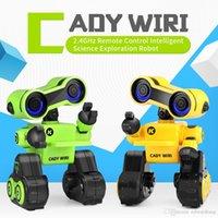 R13 Early Education-Roboter, Air Gesture-Sprachsteuerung, Erzählen von Story, Sound Record, LED-Leuchten, Aktionsprogrammierung, Weihnachtskind-Geburtstagsgeschenk, 2-1