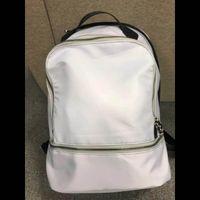 Diseñador de moda Lu Sport Backpack Mens para mujer Bolsas al aire libre Mochilas de yoga Mochilas de alta calidad Schoolbag 81ks #