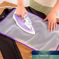 Удобный гладильный коврик бытовой железом защитная сетка ткань угла гладильное ожоговое теплоизоляционное прокладка высокая температурное сопротивление